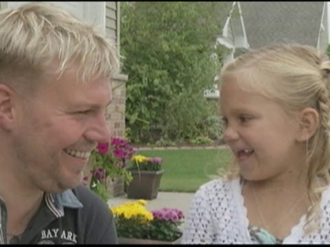 IN - Strangers no more. A young Wisconsin girl this week meets the donor who saved her life with a bone marrow transplant. The 'one perfect match' for Mira Erdmann flew from Germany to meet her,...