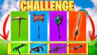 Video **PICO RANDOM** CHALLENGE! FORTNITE: Battle Royale MP3, 3GP, MP4, WEBM, AVI, FLV Juni 2019