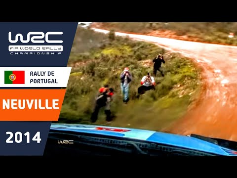 onboard thierry neuville / ss11 rally de portugal 2014