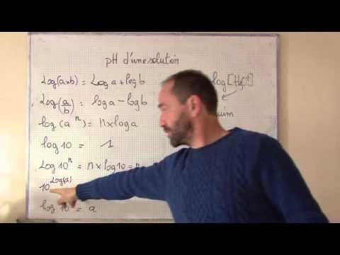 comment trouver le pka d une solution