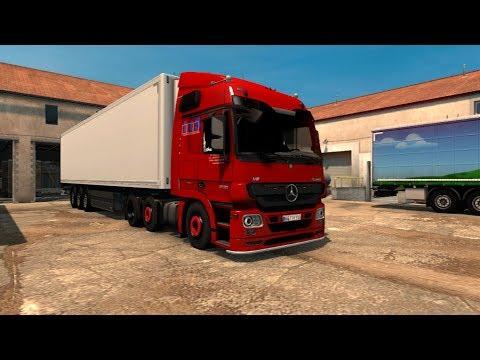 LLS Mercedes Benz Actros + Krone Trailer v1.0