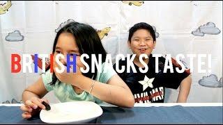 Video British Snacks Taste Test (Feat Naya & Abien) MP3, 3GP, MP4, WEBM, AVI, FLV Agustus 2017