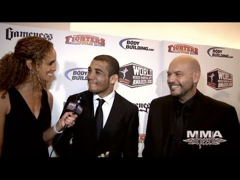 UFC Featherweight Champ Jose Aldo Wins Fighter of the Year