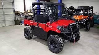 10. 2019 Kawasaki Mule Pro MX customized by Hester's, street legal, lifted, and much more!