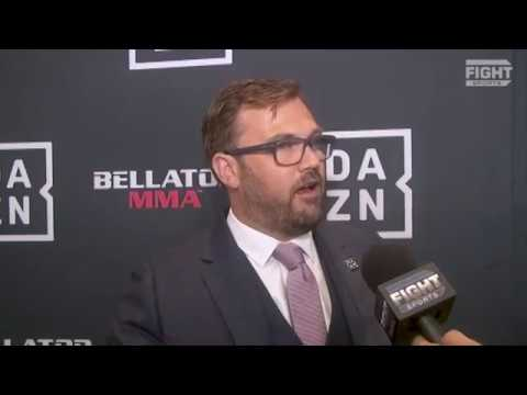 DAZN CEO James Rushton Discusses UFC vs. Bellator | FIGHT SPORTS