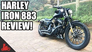 6. Harley-Davidson Iron 883 Sportster Review