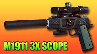 M1911 3X Scope & 23 Pistol Killstreak! (Battlefield 4 Premium Gameplay/Commentary)