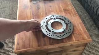 7. 2014 Ural Rear Brake Modification #3