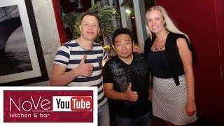 Friends from the Netherlands Vlog Their Travel to NoVe! by Diaries of a Master Sushi Chef