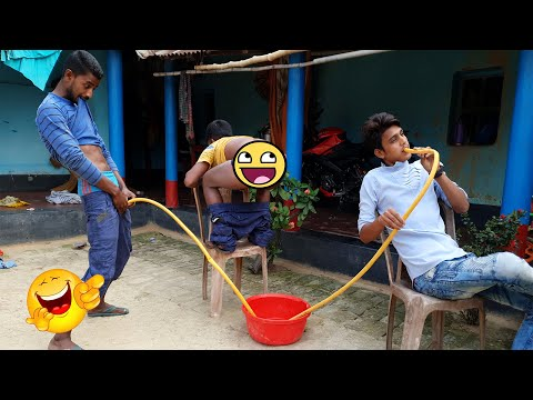 Funny videos - Must Watch New Funny Comedy Videos 2019  Episode 30  #LungiFun