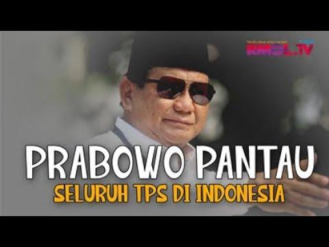 Prabowo Pantau Seluruh TPS Di Indonesia