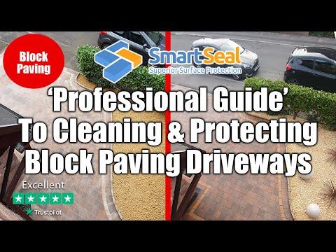 (full version) EXPERT GUIDE to Cleaning & Sealing Block Paving / Brick Pavers