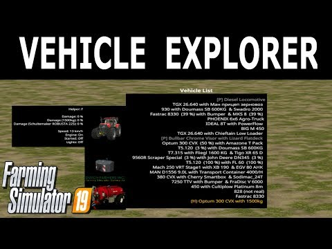 Vehicle Explorer v0.9.1.0