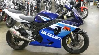 8. 2005 Suzuki GSXR 600 Description