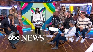 The 'Queer Eye' fab five face off in a 'Love Yourself, Love Your Life' game on 'GMA'