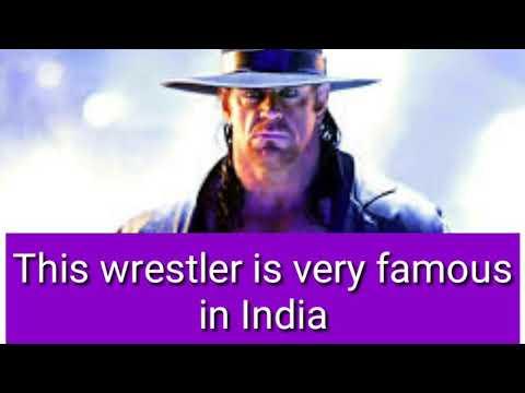 This wrestler is very famous in India    ये wrestles इंडिया में सबसे अधिक फेमस है