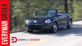 2013 Volkswagen Beetle Convertible Review 50s Edition On Everyman Driver