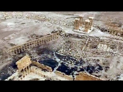 Συρία: Εργασίες αποκατάστασης στις αρχαιότητες της Παλμύρας