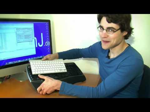 Windows Keyboard/Tastatur am Mac/Apple anschließen benutzen - Tipps & Tricks