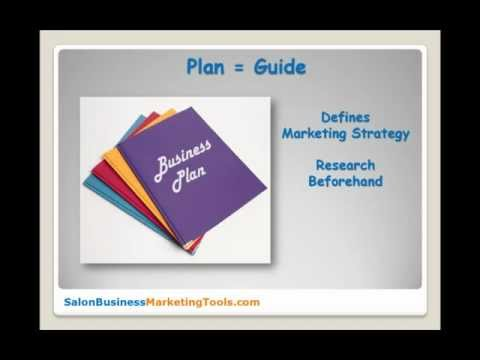 Hair Salon Business Plan – Creating Your Salon Marketing Strategy