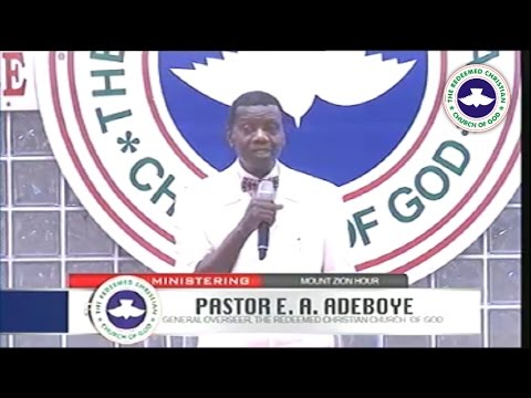 Pastor E.A Adeboye Sermon @ RCCG July 2016 THANKSGIVING SERVICE