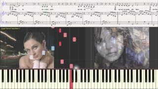 Ваенга - Аэропорт (Ноты для фортепиано) (piano cover)
