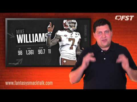 Mike Williams Rookie Preview – 2017 Fantasy Football thumbnail
