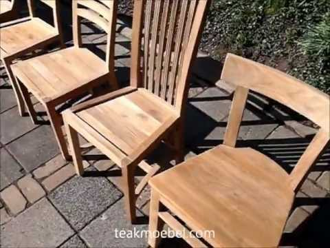 Teak Stuhl - Teakholz Stühle
