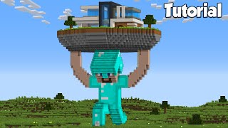 Minecraft: How to Build a Modern Statue House | NOOB vs PRO House Tutorial
