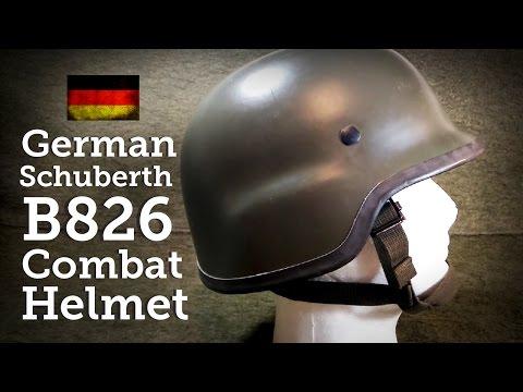 Helmets of the World: German B826 Schuberth Kevlar Helmet