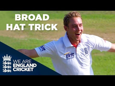 Stuart Broad's Hat Trick Against India | England v India 2011 - Full Highlights