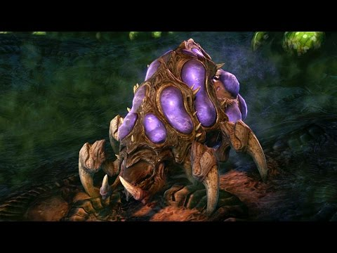Baneling Evolution: Splitter and Hunter (Starcraft 2: Heart of the Swarm)