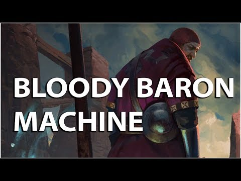 Gwent: The Witcher Card Game - Bloody Baron Machine deck- Henselt Gameplay