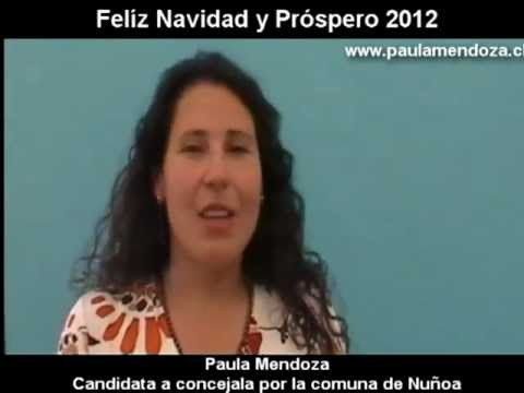 Saludo Navideño Paula Mendoza
