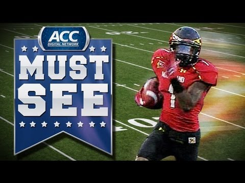 Stefon Diggs RAC vs Wake Forest 2012 video.