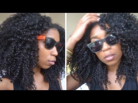No Fuss Quick Summer Beach Curls! Natural Hair