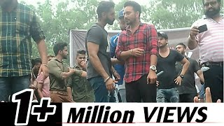 Video Parmish verma live stage  fight | S.c.d Government college MP3, 3GP, MP4, WEBM, AVI, FLV April 2018