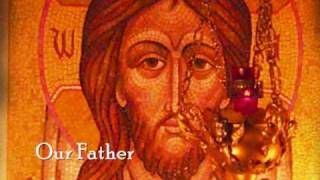 The Lord's Prayer - Our Father sung in Church Slavonic with English translation, Byzantine icons and new photos of old childhood...