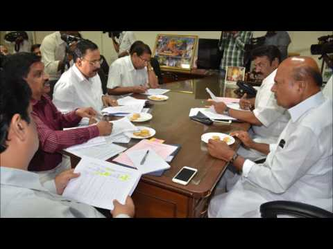,  Talasani Srinivas Yadav-Held a Review Meeting