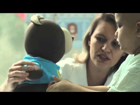 სათამაშო, რომელიც კიბოთი დაავადებულ ბავშვებს მარტოობას უმსუბუქებს