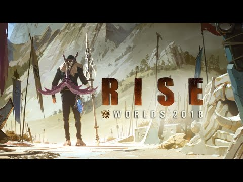 RISE (ft. The Glitch Mob, Mako, and The Word Alive) | Worlds 2018 - League of Legends Full HD - Thời lượng: 3 phút, 34 giây.