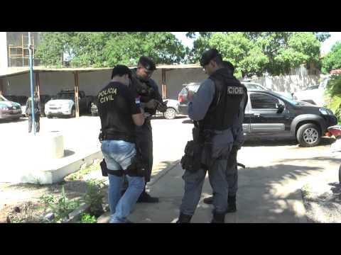 Mega Operação policial em Serra Talhada