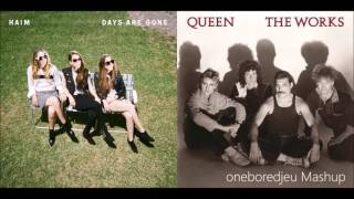 If I Could Change The Station - HAIM vs. Queen (Mashup)