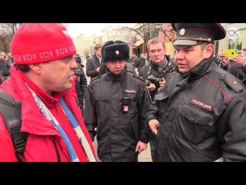 «Навальный выйди Волгоград мы с тобой» Встреча в Саратове - DomaVideo.Ru