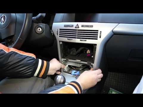 Opel astra h gtc панель фотография