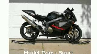 2. 2006 Honda RC51 Base -  Engine Details