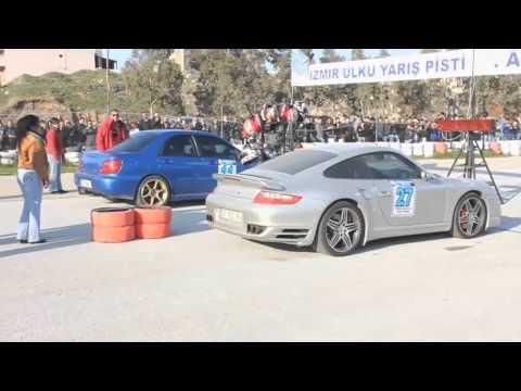 subaru impreza wrx sti vs porsche 911 turbo s