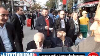 Ak Parti Zeytinburnuİlçe Kadın Koları 58 Bulvarda Aşure Dağıttı