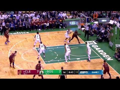 LeBron James AIRBALLS a LAYUP vs Boston Celtics May 13, 2018