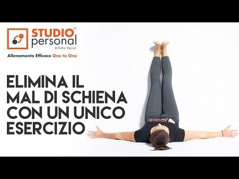 elimina il mal di schiena con un unico esercizio di stretching